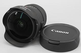 Canon キヤノン EF 8-15mm 1:4 L USM FISHEYE
