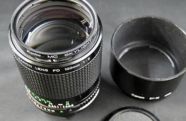Canon キヤノン FD 100mm 1:2