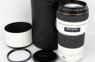 MINOLTA ミノルタ HIGH SPEED AF APO TELE ZOOM 80-200mm 1:2.8 交換レンズ