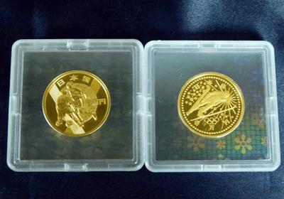 FIFA ワールドカップ&長野オリンピック記念 1万円金貨
