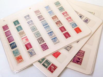 市川海老蔵切手・国立公園切手を含む日本切手をまとめて