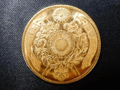 五圓金貨(旧五圓金貨)