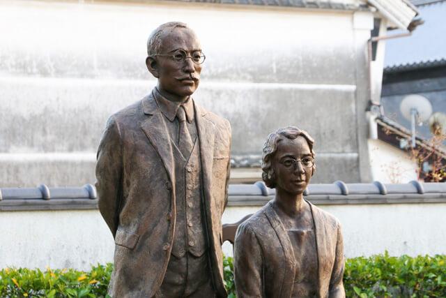 竹鶴政孝(マッサン)と妻のリタ