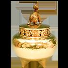 アンティークの金杯
