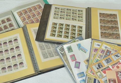 大量の切手