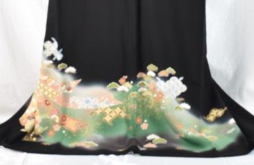 松井青々黒留袖