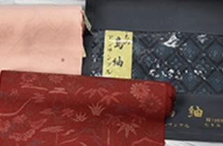大島紬などの反物