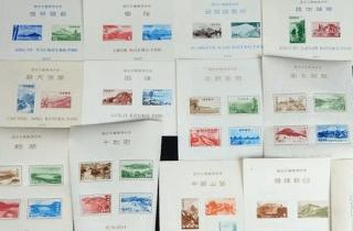 日本切手 小型シート