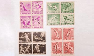国体切手の歴史