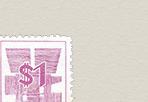 ドル表示数字切手