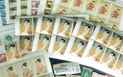 切手シート・バラ切手