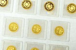 天皇陛下御在位10年記念金貨