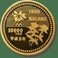 長野オリンピック記念金貨