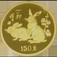 中国十二支金貨(中国)