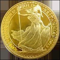 ブリタニア金貨(イギリス)