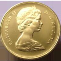 カナダ建国100周年20ドル金貨(カナダ)