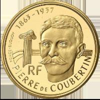 アルベールビル五輪金貨(フランス)