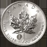 メイプルリーフ銀貨(カナダ)