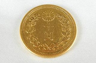 大日本十圓金貨