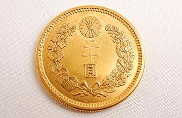 大正六年二十圓金貨