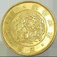 旧5圓金貨