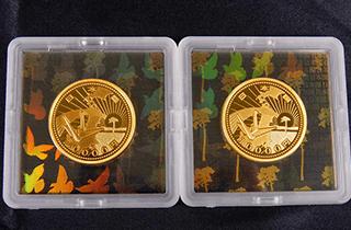東日本大震災復興事業記念一万円金貨幣プルーフ貨幣セット