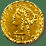 リバティ金貨