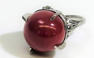 赤珊瑚 指輪
