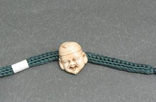 象牙 羽織紐