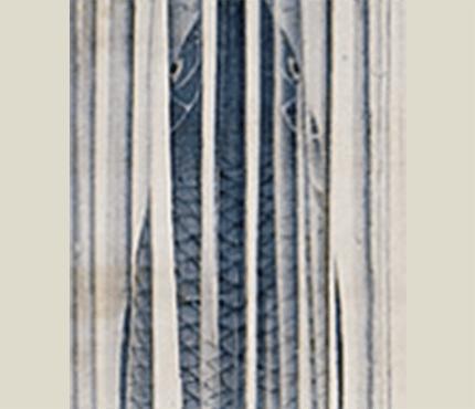龍門鯉魚図