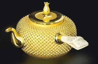茶道具 金瓶