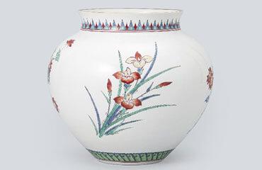 清水卯一 青瓷茶碗 共箱付き