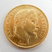 海外金貨ナポレオン金貨