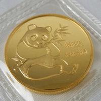 中国硬貨パンダ金貨1/2オンス