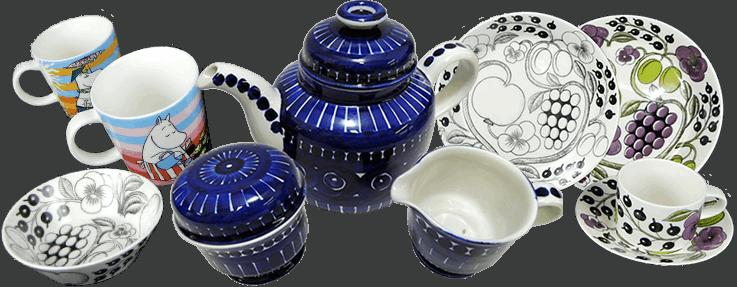 写真:アラビアの食器