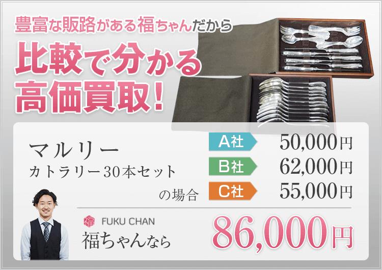 食器の買取価格比較