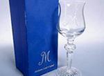 マイセンクリスタルワイングラス