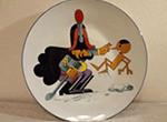 リチャードジノリピノキオ飾り皿